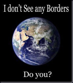 I don`t see any borders