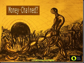 Money Chained - Equal Money for all - Marlen Vargas del Razo