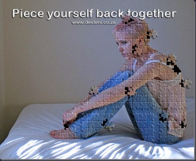 Piece yourself together - Desteni I Process